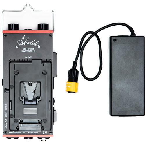 Aladdin Dimmer Kit for Bi-Fold 2 LED Light with V-Mount Battery Plate