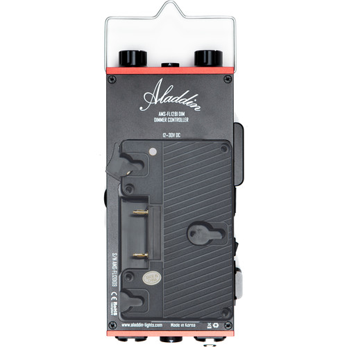 Aladdin Dimmer Kit for Bi-Fold 4 LED Light with Gold Mount Battery Plate