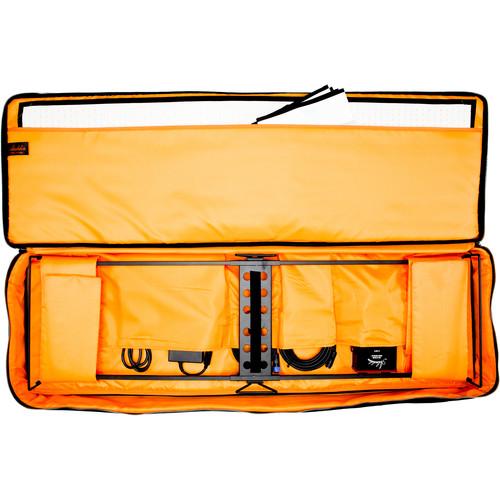 Aladdin Bi-Flex4 Bi-Color LED Panel Kit with Soft Bag (Gold-Mount)