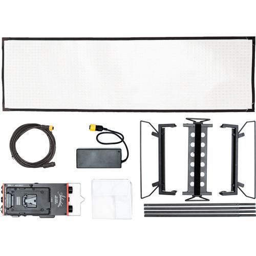 Aladdin Bi-Flex4 Bi-Color LED Panel Kit with Soft Bag (V-Mount)