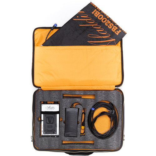 Aladdin Fabric-Lite 350W Bi-Color Kit with V-Mount Battery Plate