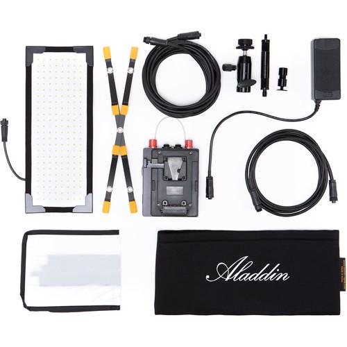 Aladdin Bi-Flex M3 Bi-Color Kit with V-Mount Battery Plate and Case