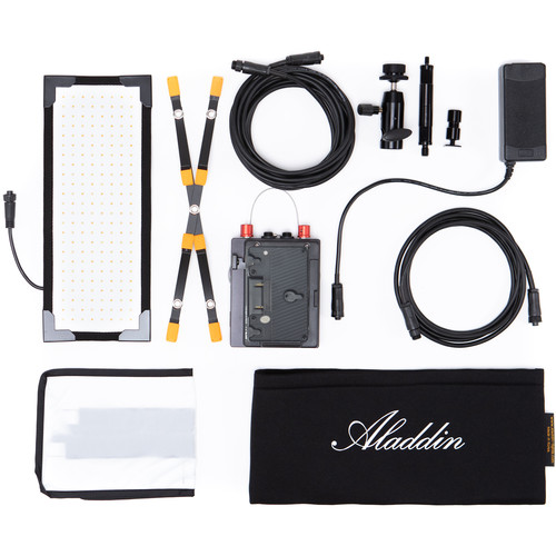 Aladdin Bi-Flex M3 Bi-Color Kit with Gold Mount Battery Plate