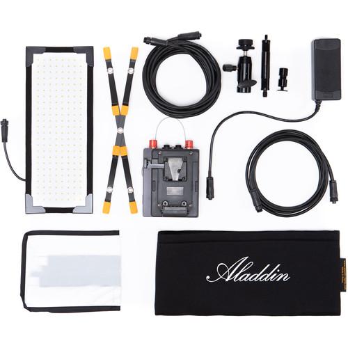 Aladdin Bi-Flex M3 Bi-Color Kit with V-Mount Battery Plate