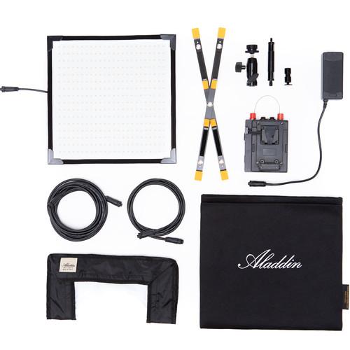 Aladdin Bi-Flex M7 Bi-Color Kit with V-Mount Battery Plate and Case