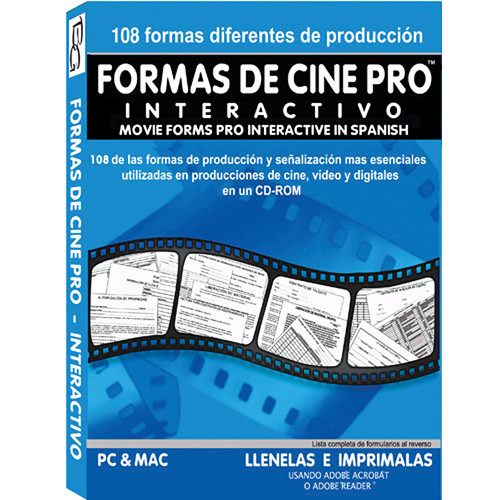 Alan Gordon Enterprises Movie Forms Pro - Interactive (Spanish)