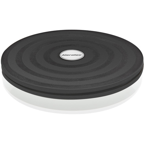 """Aleratec 8"""" Rotating Swivel Stand / Lazy Susan with Steel Ball Bearings and Rubber Feet (Black)"""