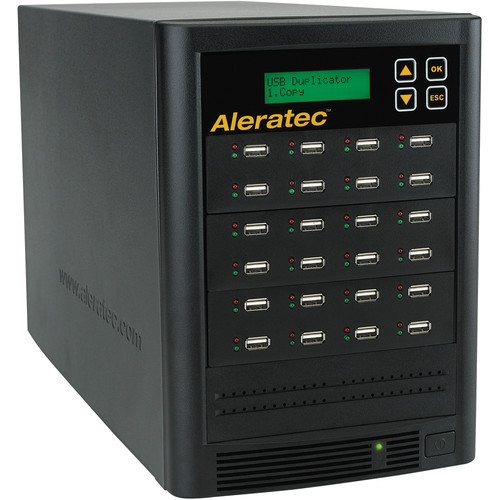 "Aleratec 1:23 USB Flash Drive & 2.5"" HDD/SSD Copy Tower"