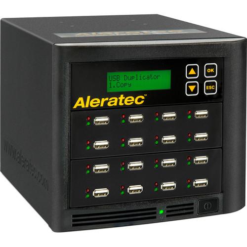 """Aleratec 1:15 USB Flash Drive & 2.5"""" HDD/SSD Copy Tower"""
