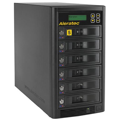 Aleratec 1:5 High-Speed HDD Copy Cruiser - 5 HDD Duplicator & 6 HDD Sanitizer