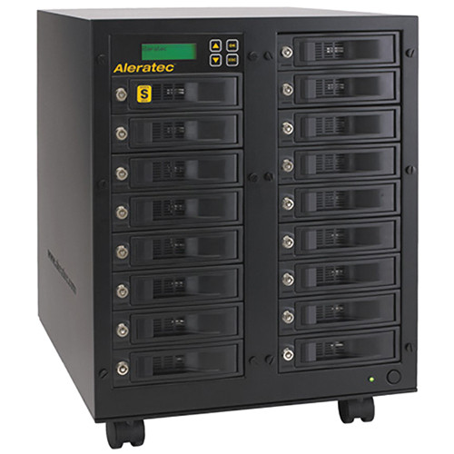 Aleratec 1:16 High-Speed HDD Copy Cruiser - 16 HDD Duplicator & 17 HDD Sanitizer