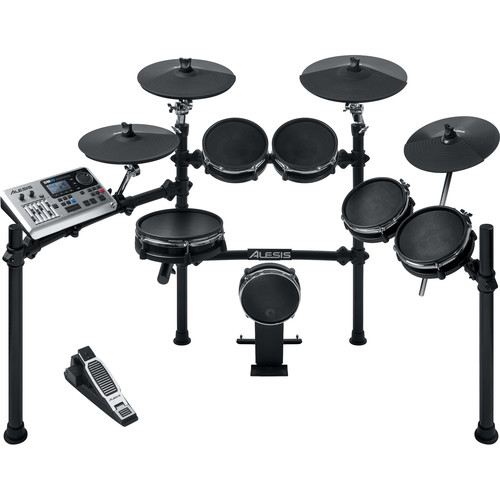 Alesis DM10 Mesh Kit Six-Piece Electronic Drum Set with Mesh Drum Heads