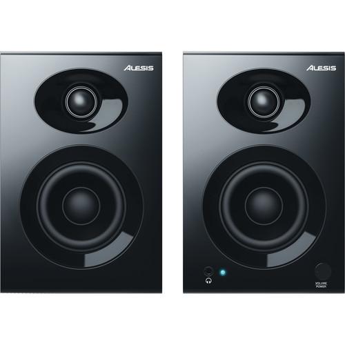 "Alesis Elevate 3 MKII - 20W 3"" Two-Way Active Desktop Studio Monitors (Pair)"