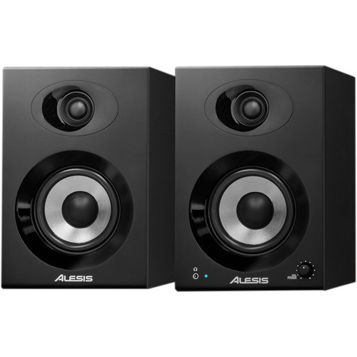 "Alesis Elevate 4 - 40W 4"" Two-Way Active Desktop Studio Monitors (Pair)"