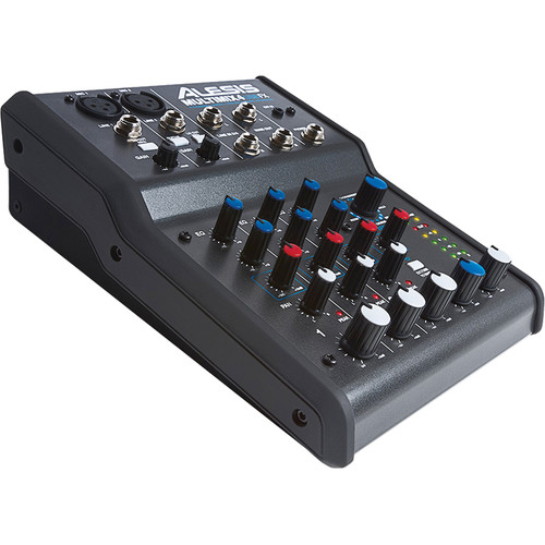 Alesis MultiMix 4 USB FX 4-Channel Mixer and USB Audio Interface