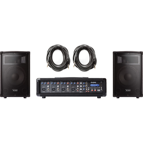 Alesis PA System in a Box, 280-Watt 4-Channel PA System