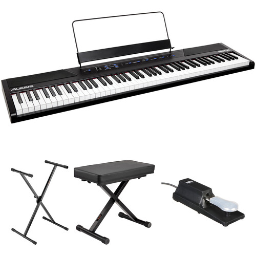 Alesis Recital 88-Key Digital Piano Essentials Kit