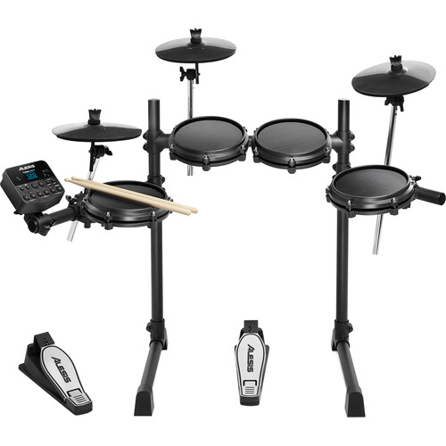 Alesis Turbo 7-Piece Electronic Drum Kit w/ Mesh Heads