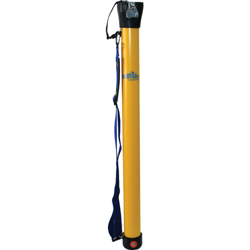 "Alfa Case 10032BTLY-TSA-B 16 to 32"" Boom Tube with TSA Lock (Yellow)"