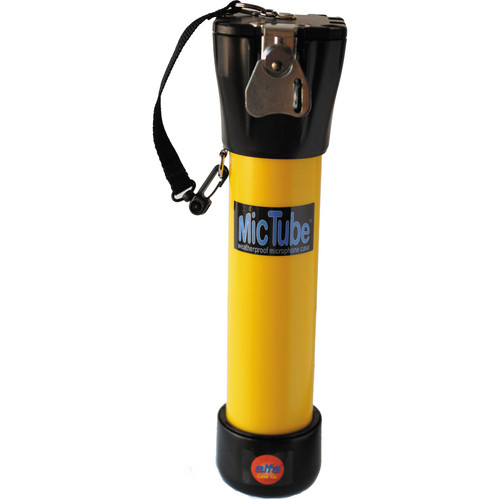 Alfa Case 20012MTLY-ME66/K6 MicTube Weatherproof Microphone Case (Small, Yellow)