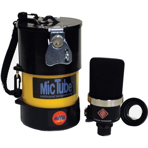 Alfa Case 20036MTLB-YELLOW MicTube Weatherproof Microphone Case (Yellow)