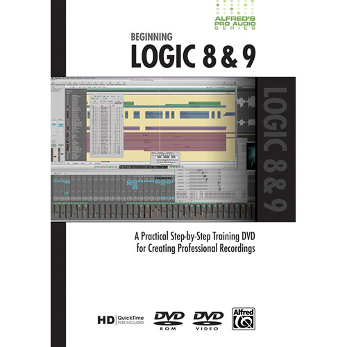 ALFRED DVD: Pro Audio Series: Beginning Logic 8 & 9