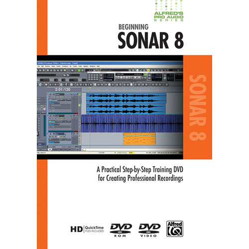 ALFRED DVD: Pro Audio Series: Beginning Sonar 8