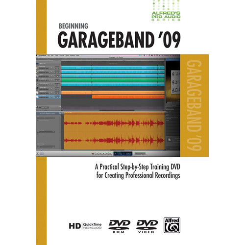 ALFRED DVD: Pro Audio Series: Beginning GarageBand '09