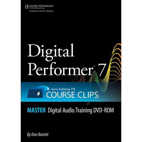 ALFRED DVD: Digital Performer 7 Course Clips Master