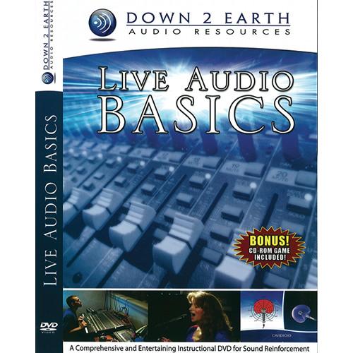 ALFRED DVD: Live Audio Basics (Beginner/Intermediate)