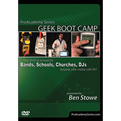 ALFRED DVD: Pro Academy Series: Geek Boot Camp