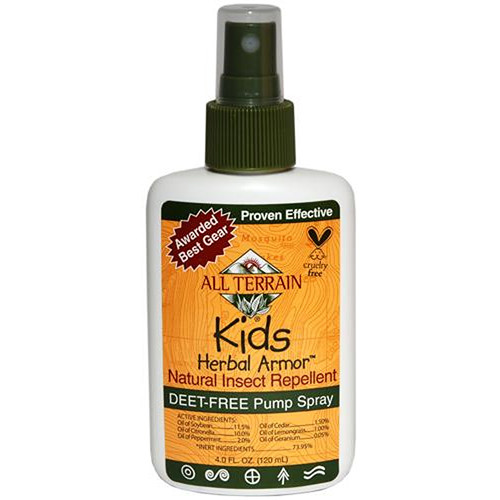 All Terrain Kid's Herbal Armor Spray Repellent (4 oz)