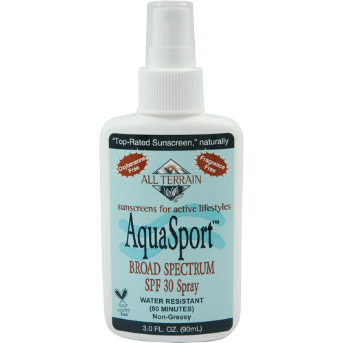 All Terrain Aqua Sport SPF30 Sunscreen (3 oz, Spray)