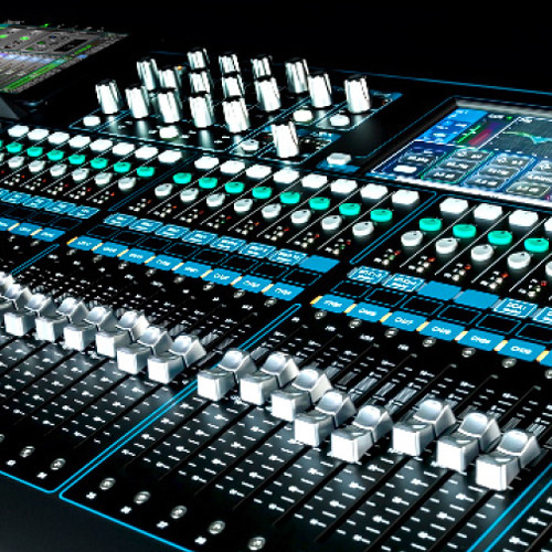 Allen & Heath Chrome Conversion Kit for QU-24 Mixer