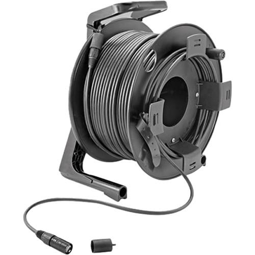 Allen & Heath Etherflex Cat6 Cable on Drum Reel with Locking Neutrik Ethercon Connectors - 80m (264')