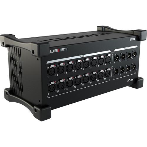 Allen & Heath DT168 16x8 Dante/AES67 Audio I/O Expander