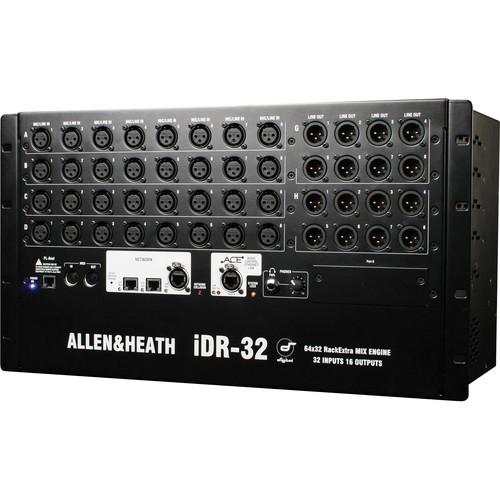 Allen & Heath iDR-32 iLive Fixed-Format MixRack (6 RU)