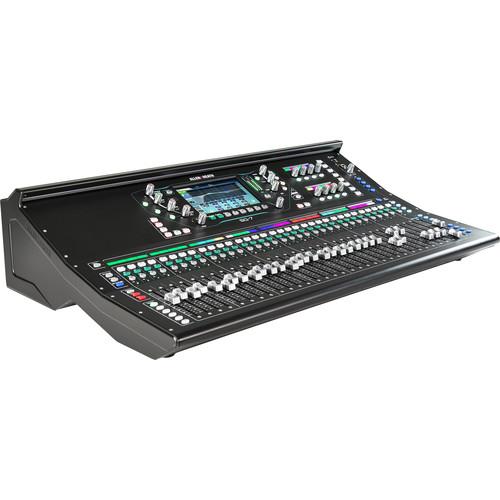 Allen & Heath SQ-7 48-Channel / 36-Bus Digital Mixer with 32+1 Motorized Faders