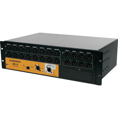 Allen & Heath xDR-16 16-Input/8-Output Expander