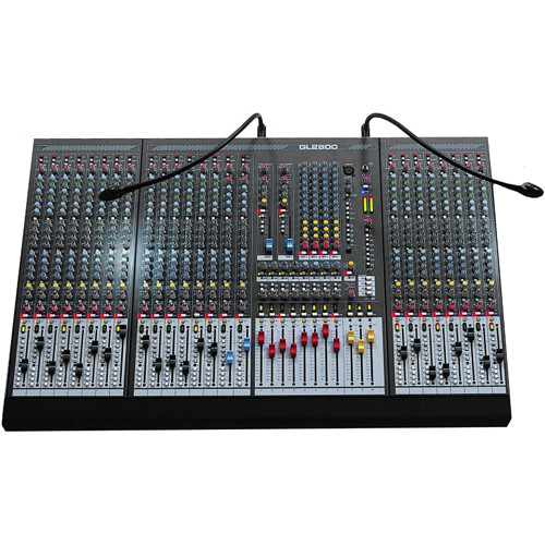 Allen & Heath GL2800-824 24-Channel 8-Bus Live Sound Mixer