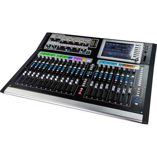Allen & Heath GLD-80 Chrome Edition Compact Digital Mixing Surface