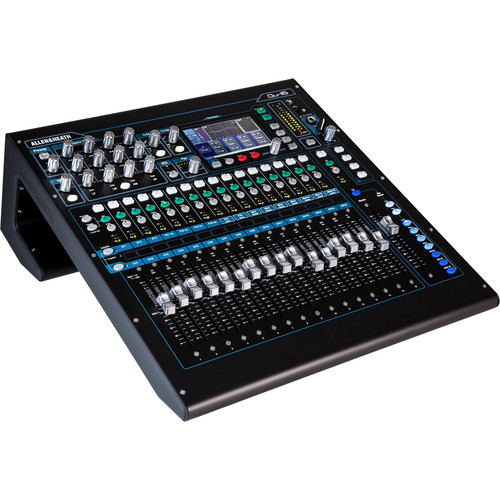 allen heath qu 16 digital mixer recorder kit with dust cover. Black Bedroom Furniture Sets. Home Design Ideas