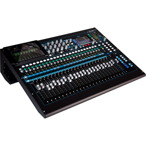 Allen & Heath Qu-24C 30-In/24-Out Digital Mixer Kit with Hard Cover and Soft Dust Cover