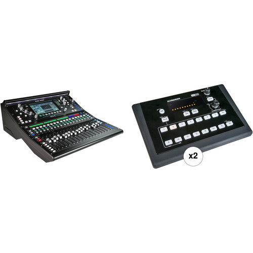 Allen & Heath SQ-5 Digital Mixer Kit with Two ME-500 16-Channel Personal Mixers