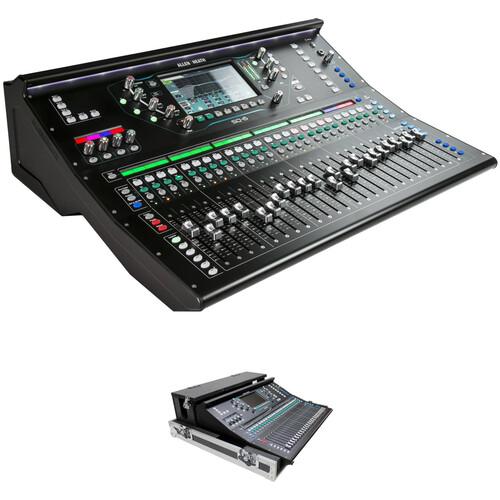 Allen & Heath SQ-6 Mixer Kit with ProX Flight Case