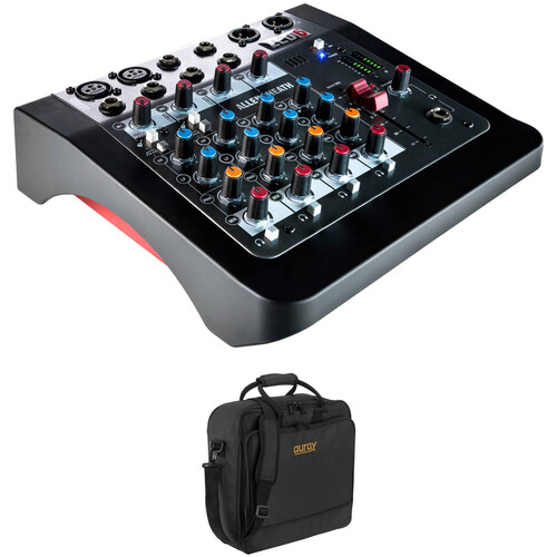 Allen & Heath ZED-6 Mixer Kit with Padded Gig Bag