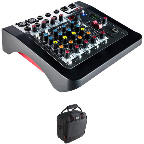 Allen & Heath ZED-6FX Analog Mixer Kit with Padded Gig Bag
