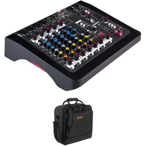 Allen & Heath ZEDi-10 Hybrid Mixer/USB Interface Kit with Padded Gig Bag