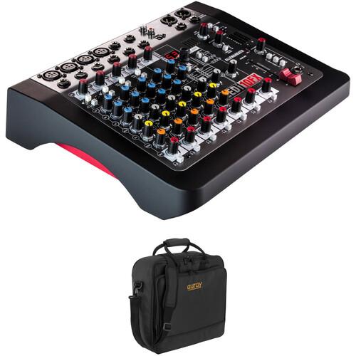 Allen & Heath ZEDi-10FX Hybrid Mixer/USB Interface Kit with Padded Gig Bag