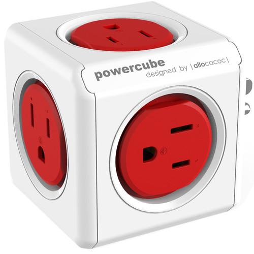 allocacoc PowerCube Original (Red)